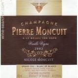 CUVEE NICOLE MONCUIT V.V. MILLESIME 2005